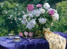 Tea party in the garden 75х100