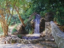 Falls in the Vorontsov Park. Crimea 60x80