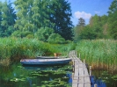 Landscape with boats 60x80