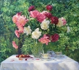 Still life with peonies 70х80