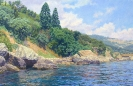 Seashore. Alupka 55х85