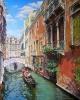 Венеция весной 75х60