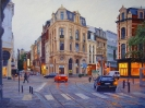 The intersection. Ghent. Belgium 75x100