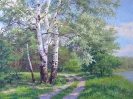 Track in the woods 60x80